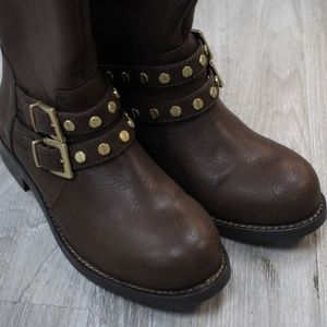 Victora Secret Leather Brown Boot